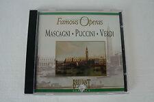 Famous Operas - Mascagni, Puccini, Verdi, CD (Box 63)