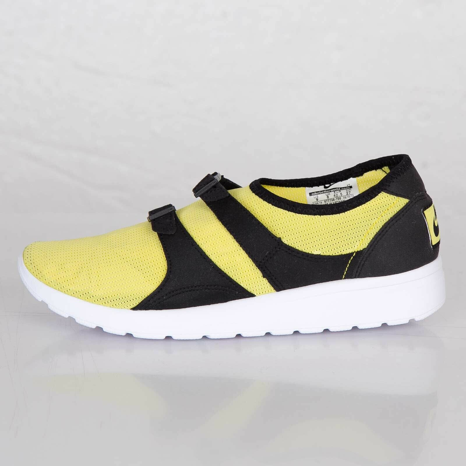 Nike Air Sock Racer size 12 (Yellow)