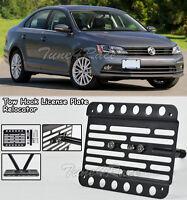 For 15-up Volkswagen Jetta Ncs Sedan Front Bumper Tow Hook License Plate Bracket