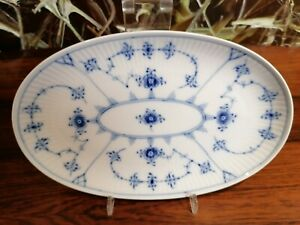 Royal-Copenhagen-Fluted-Ribbed-Side-Plate-9-1-8in-New