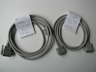 """80/""""in 6/'ft HP Hewlett Packard Parallel Printer Cable DB25 36p Micro Centronics"""