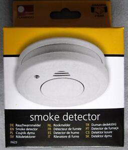 Das Bild Wird Geladen Rauchmelder Optisch Akustisch 85 DB LED Blinklicht Ladewarnung