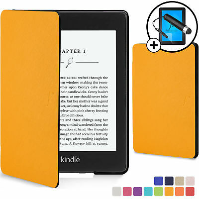 Kindle Paperwhite 2018 Case | Smart Protective Cover| Yellow +