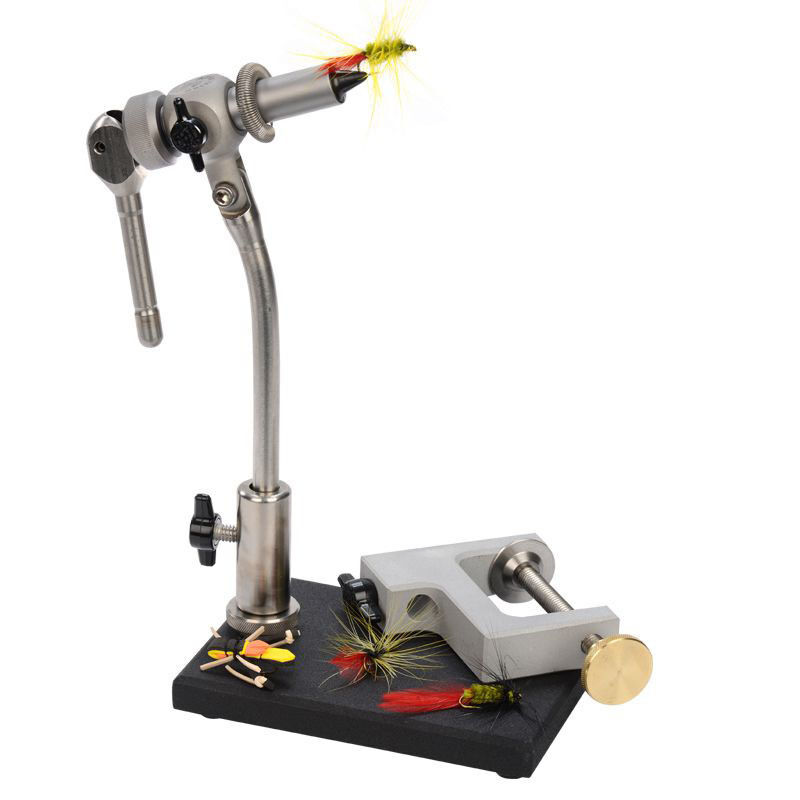 FULL rossoARY STAINLESS STEEL APEX WOLFF FLY TYING VICE