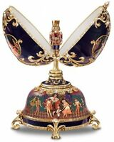 The Russian Nutcracker Collectible Musical Egg By Ardleigh Elliott