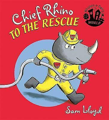 Chief Rhino to the Rescue (Whoops-a-Daisy World)-ExLibrary