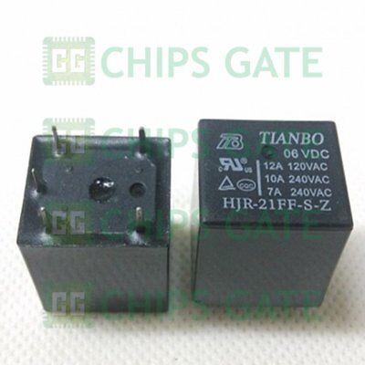 5pcs new   TIANBO Relay  HJR-21FF-S-Z 05VDC