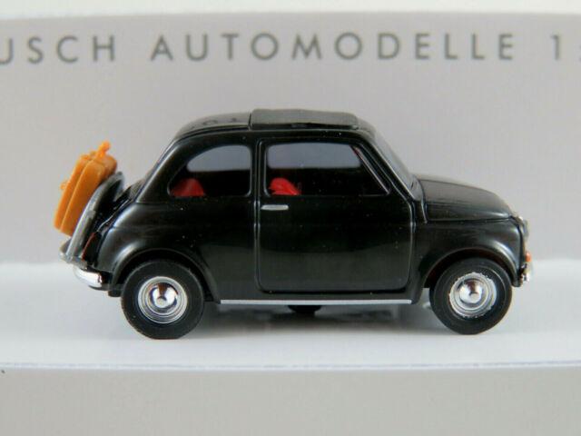 Fiat 500 Carabinieri Busch 48728 Neu in OVP 1//87