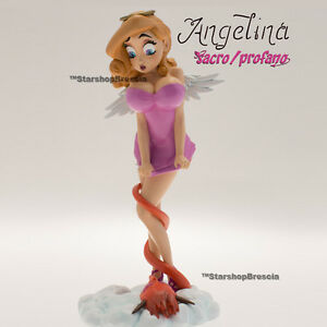 Sacré Et Profane - Statue Infinite En Résine Angelina