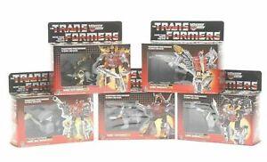 Transformers G1 Reissue Dinobots 5 Set Grimlock Sludge Slag Swoop Snarl Toys