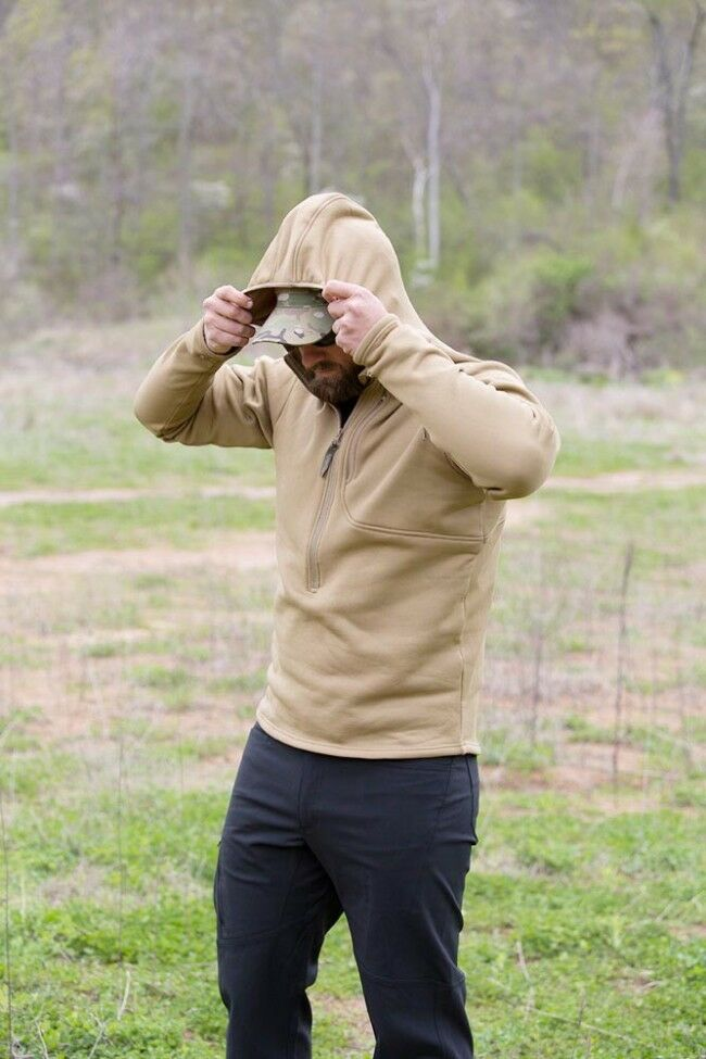 US Propper Tactical V2 LS1 Lightweight Tactical Propper Outdoor Spy Hoodie Hoody Pullover Large 092759