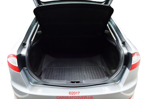 RUBBER CAR BOOT MAT LINER COVER PROTECTOR 14 on For Nissan Qashqai