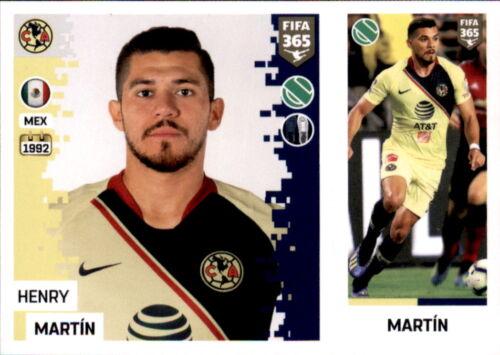 Sticker 381 a//b Henry Martin Panini FIFA365 2019 Club America