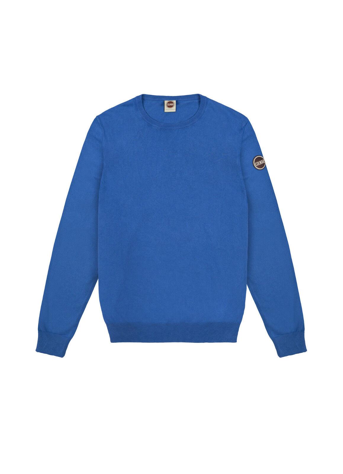 Pullover Pullover Pullover Uomo COLMAR 4453 T 2QC Effect Maglia Felpa Nera Blu verde Cotone NUOVO 9dc9a5