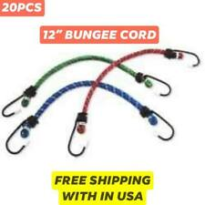 5PK Mini Bungee Cord Straps 8/'/' for Bikes /& Bicycles Home Workshop Camping