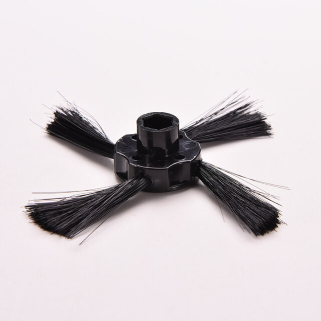 Black Brush Replacement 4-Arm Side For Hepa Neato Botvac 70E 75 80 85 Cleaner ne