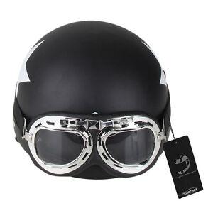 Carchet-Moteur-Moto-Casque-Chaud-Confortable-Protection-Lunettes-de-Visiere