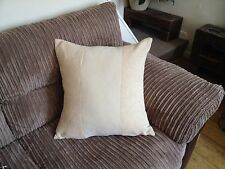 """4 22"""" X 22"""" Crema de moda y Marfil 3 Panel Cushion Covers,? por qué comprar de ahora?"""