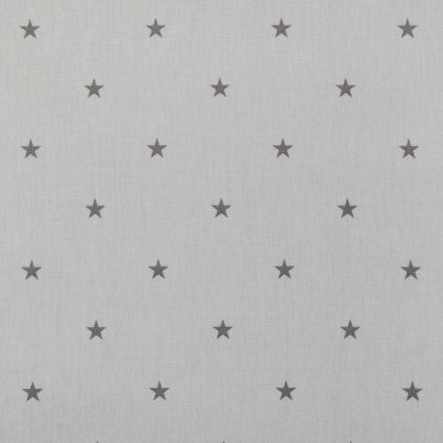 Clarke /& Clarke Elise Smoke Grey Cotton PVC WIPE CLEAN Tablecloth Oilcloth