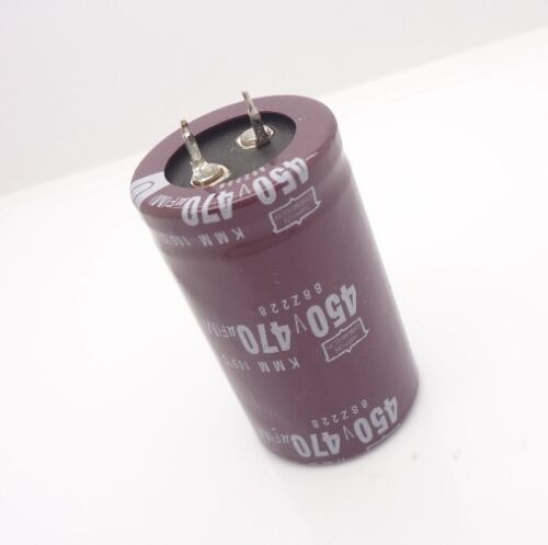 1pcs 450V 470uf 30x50MM Nippon Electrolytic Capacitor Radial 105℃ Snap  #E086 YX