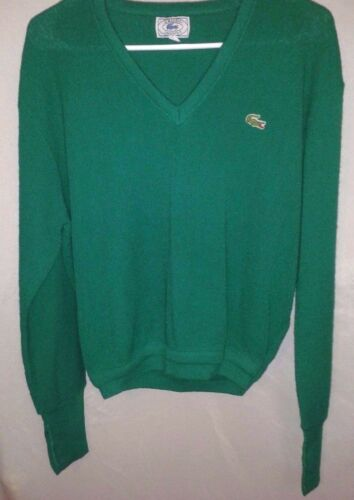 Turquoise Pull Fst Longsleeve Shp Euc Vert Rare Dolman Izod Lacoste Vintage 58OqU6OXw