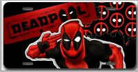 Lk Deadpool License Plate Or Room Sign - Design 3 Comic Book
