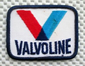 VALVOLINE-EMBROIDERED-SEW-ON-PATCH-OIL-LUBRICANTS-UNIFORM-ADVERTISING-3-x-2-1-4