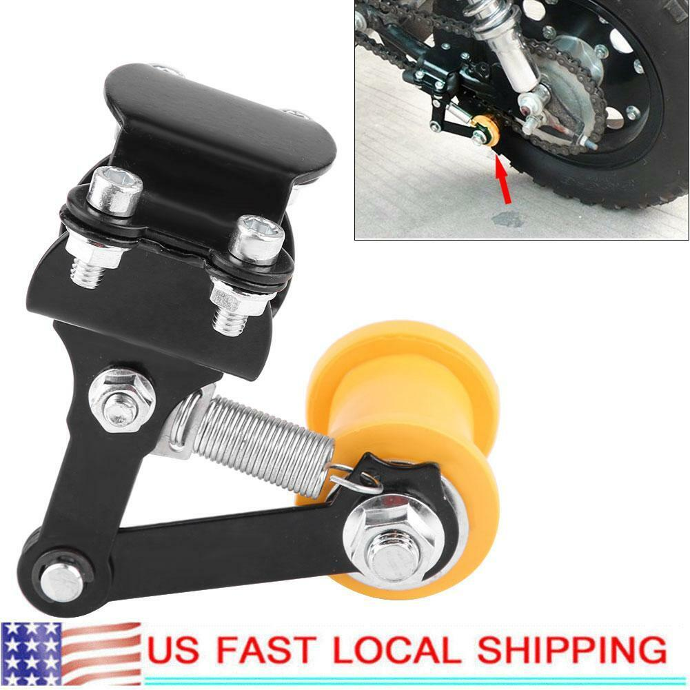 Red Roadiress Chain Tensioner Adjuster Chain Tensioner Bolt On Roller Motorcycle Modified Accessories Universal Tool