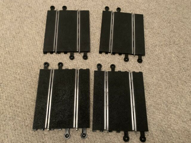 Scalextric Classic Track  - C159 - Half Straights - x4 Used Digital Compatible