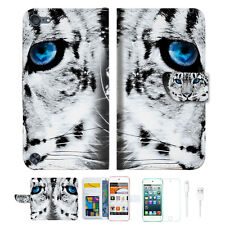 Leopard Wallet Case Cover For iPod Touch 5 & 6-- A013