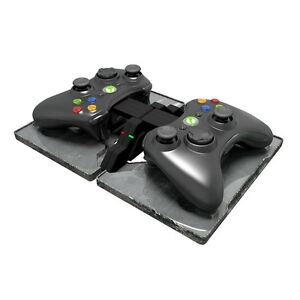 Xbox-360-Wireless-Controller-Charger-Ammo-Dock-Rechargeable-Batteries-EU-Plug
