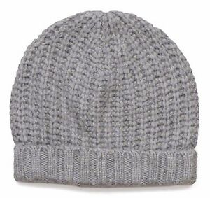 50ace468c7cbc NEW  J.Crew Women s Chunky Ribbed Winter Hat - One Size - Heather ...