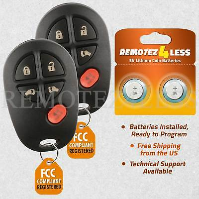 Replacement For 2011 2012 2013 2014 2015 2016 Toyota Sienna Key Remote