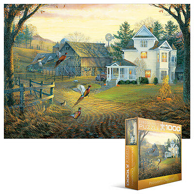 Puzzle EG80000605 Eurographics Puzzle 1000 Teile - Land Crossing Fasane