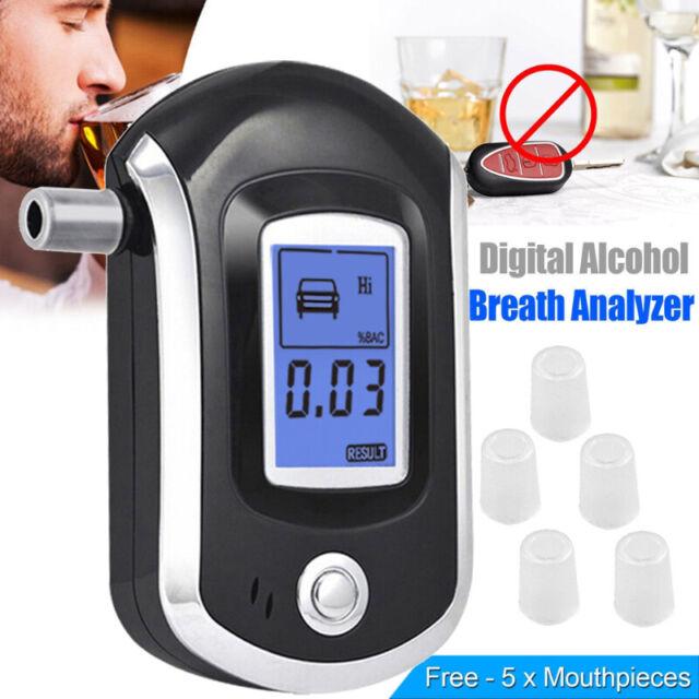 Alkohol tester Neu/&OVP DE~c Promilletester Alkomat Alkoholtester Alkoholtest