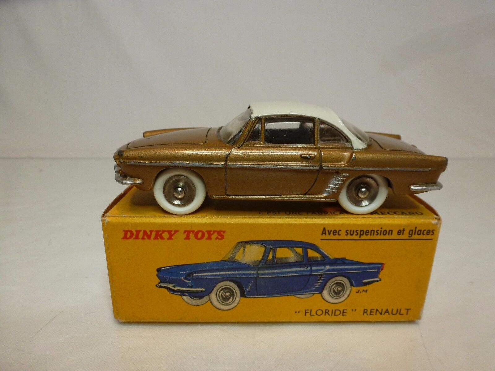 DINKY TOYS 543 RENAULT FLORIDE - BRONZE 1 43 - GOOD CONDITION IN BOX
