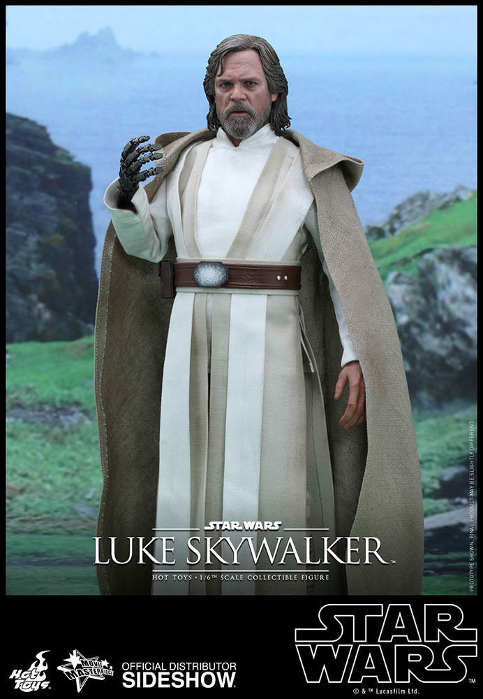 Star Wars The Force Awakens Luke Skywalker 1:6 Hot Toys MMS390 (902776)