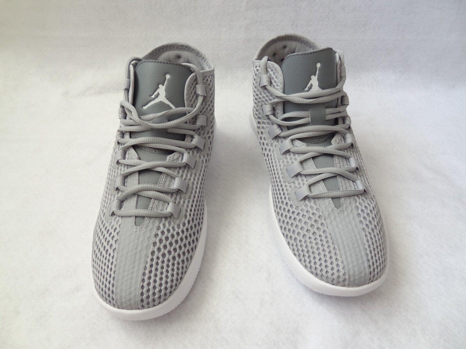 Jordan Reveal Mens Basketball Shoes 9.5 Wolf Grey/White Cool Grey Infrared