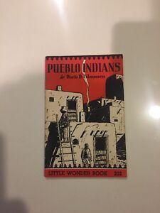 Little-Wonder-Book-202-PUEBLO-INDIANS-1951-5-5x8-5-32-pages
