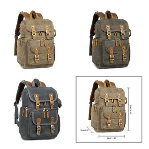 Waterproof DSLR Lens Camera Backpack Rucksack Soft Case Bag for Canon Sony Nikon