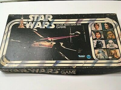 VINTAGE Kenner 1977 STAR WARS ESCAPE FROM DEATH STAR Board ...