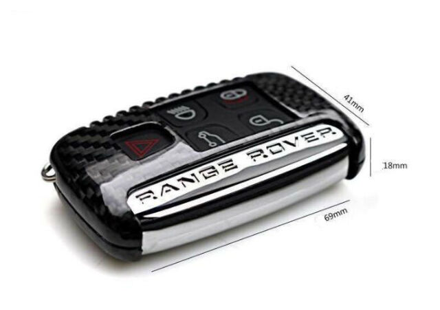 REAL DRY CARBON REMOTE KEY COVER CASE FOR  VOGUE SPORT EVOQUE DISCOVERY