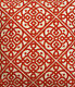 Upholstery Fabric Lace It Up Red For Sofa Curtains 54 12 Yard Piece on Sale