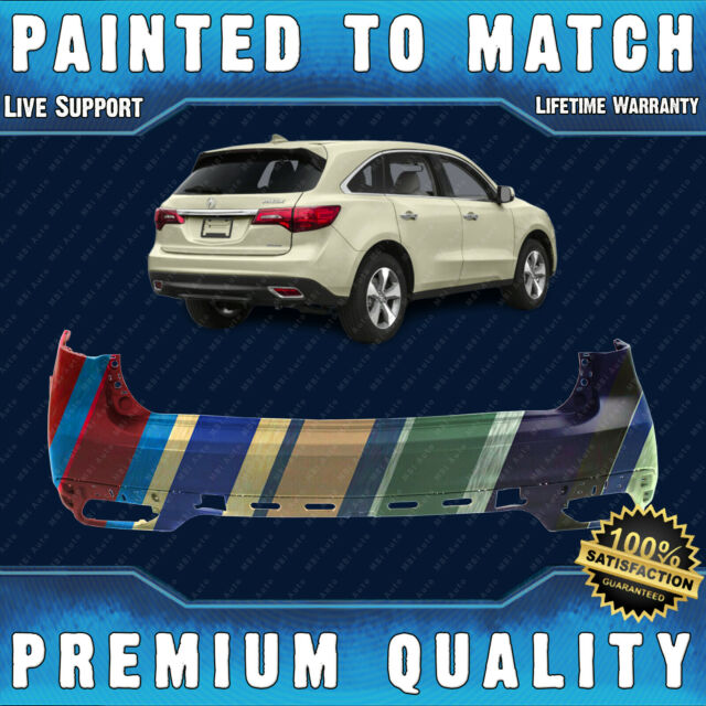 NEW Painted To Match Rear Bumper Cover For 2014 2015 2016