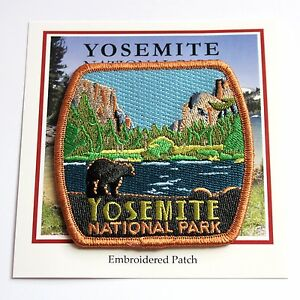 Official Yosemite National Park Souvenir Patch Black Bear California