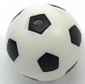 Lego New Standard Pattern Soccer Ball Sports Minifigure Piece
