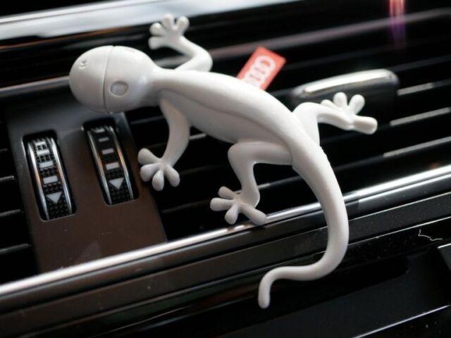 Genuine Audi Fragrance Gray Gecko Air Freshener Dispenser Aromatic Scent fresh