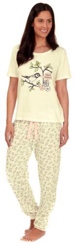 PJ Damen /'Forever Dreaming/' Sommer Pyjama-sortiment Nachtwäsche Lounge Set