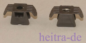 LEGO-Ninjago-2-x-Ruestung-Brustpanzer-perl-dunkelgrau-Armor-30174-NEUWARE