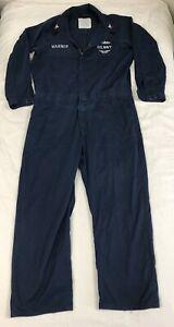 United-States-Navy-Coveralls-Blue-Work-Utility-Size-50-Long